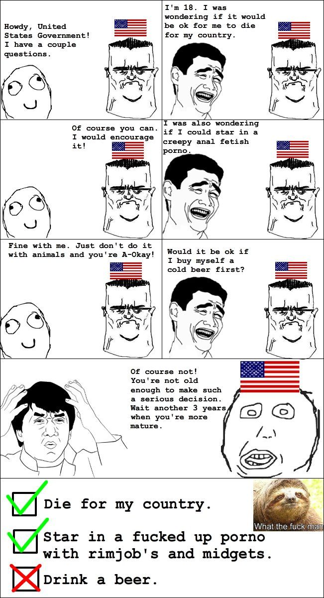 Ridiculous American Law Best Of Funnyjunk Derp Comics Rage