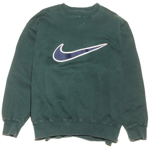 356b1ae13f93 Nike Check Sweatshirt Perennial Merchants ( 26) ❤ liked on Polyvore  featuring tops