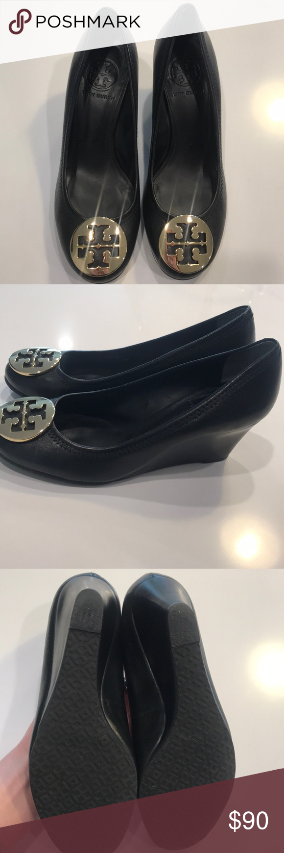 "Tory Burch Closed Toe ""Sally"" Wedges"