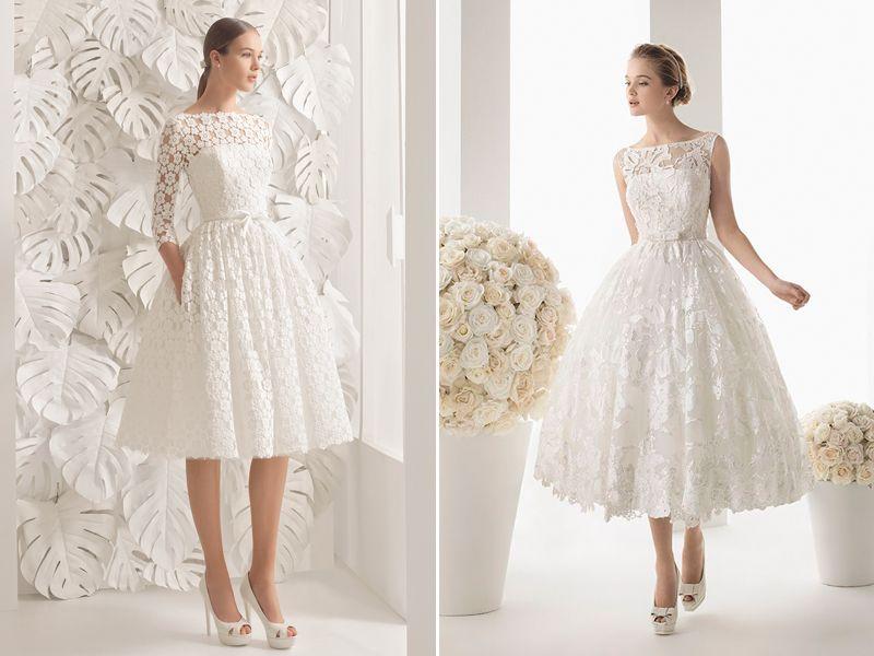 30 Modern Short Wedding Dresses For Summer Brides | Short wedding ...