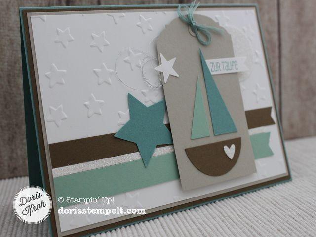 Karte Taufe Einladung.Karte Zur Taufe Cards Karten Basteln Taufe Taufkarte Und