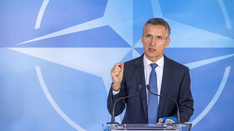 Stoltenberg It's not up to Russia to decide about