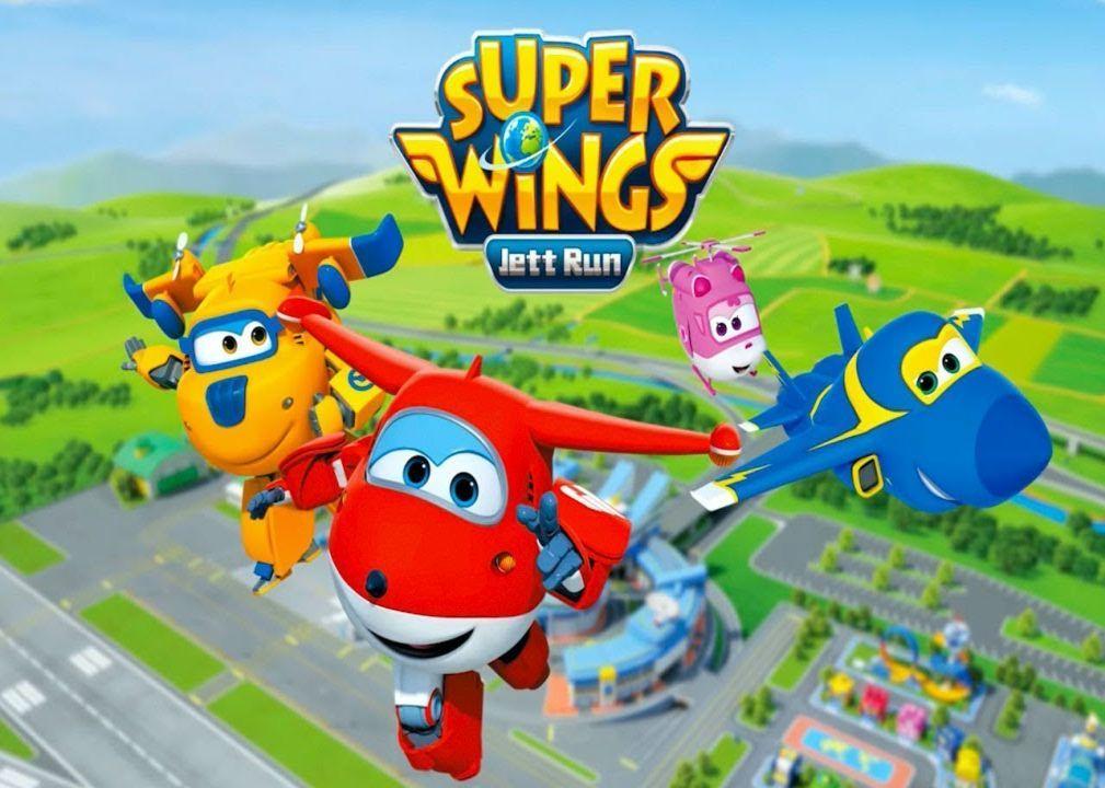 Super Wings Jett Run Money Mod Download APK Wings