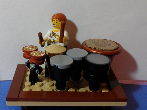 CUSTOM LEGO Drum Set Made to Order by ValGlaser on Etsy, $65.00