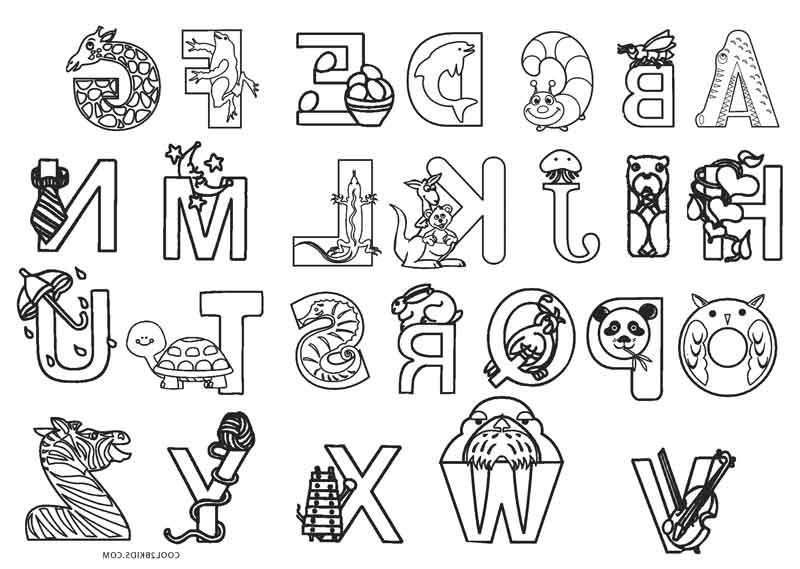 Abc Coloring Pages Coloring Page Pinterest Coloring Pages Abc