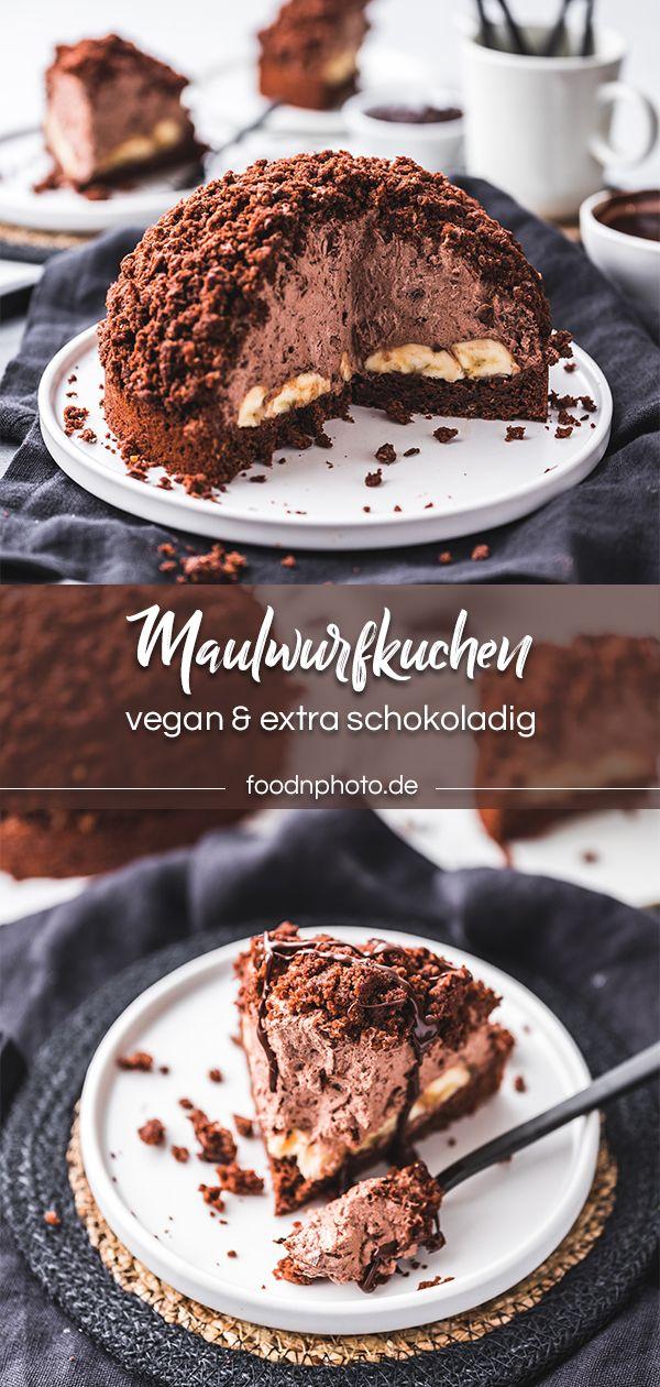 Veganer Maulwurfkuchen selbstgemacht! - Food'n'Photo | Rezepte • Food Fotografie • Styling #veganermaulwurfkuchen