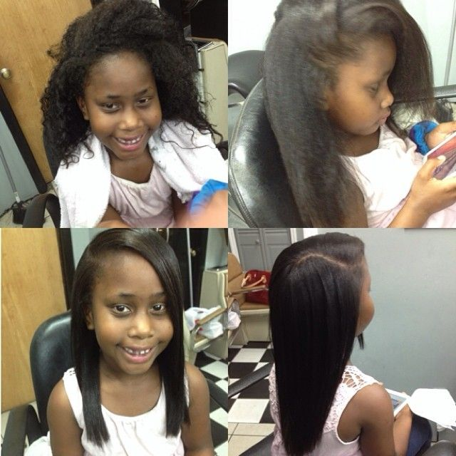 child s hair flat ironed michrich2 hair hair styles hair