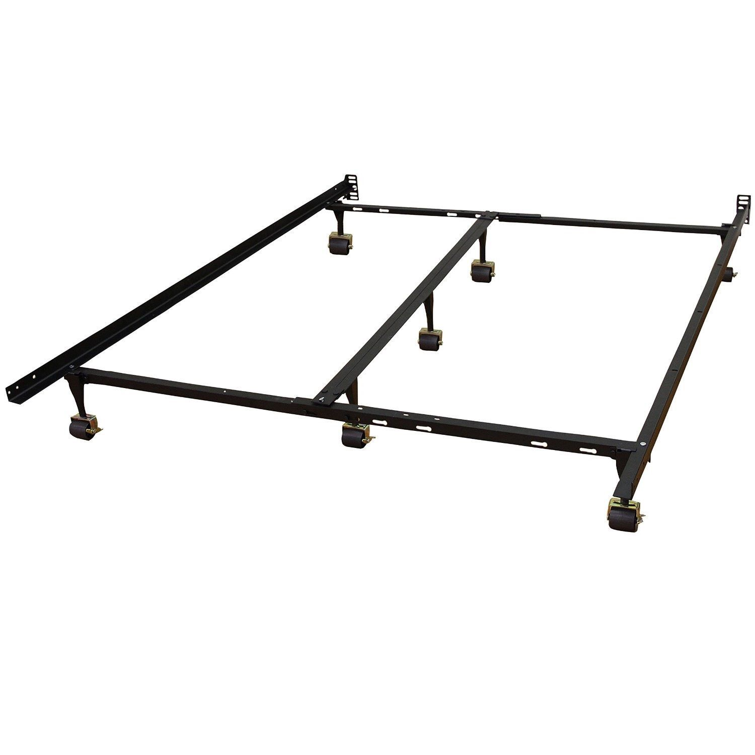 Universal Metal Bed Frame Adjusts To Fit Twin Full Queen King Cal