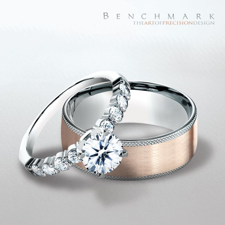Benchmark Engagement Rings Found At Bay Area Diamond Company Where Green Bay Gets Engaged Jewelry Rings Diamond Jewelry Appraisal Mens Wedding Bands