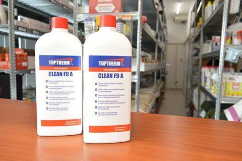 CLEAN F9A: pulitore per residui della combustione dalle superfici lato fumi nei moduli a condensazione in acciaio o alluminio. www.ktlsrl.it #ktl #iltuocentroricambi #carpi Seguici sulla nostra pagina Facebook: www.facebook.com/KTLsrl