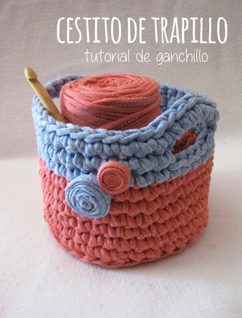 Proyecto Handmade: Cómo hacer una cesta pequeña o cestito de ...