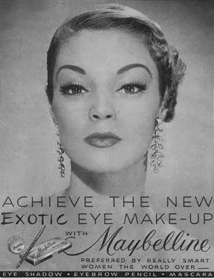 JEAN PATCHETT, Maybelline Ad - 1950s