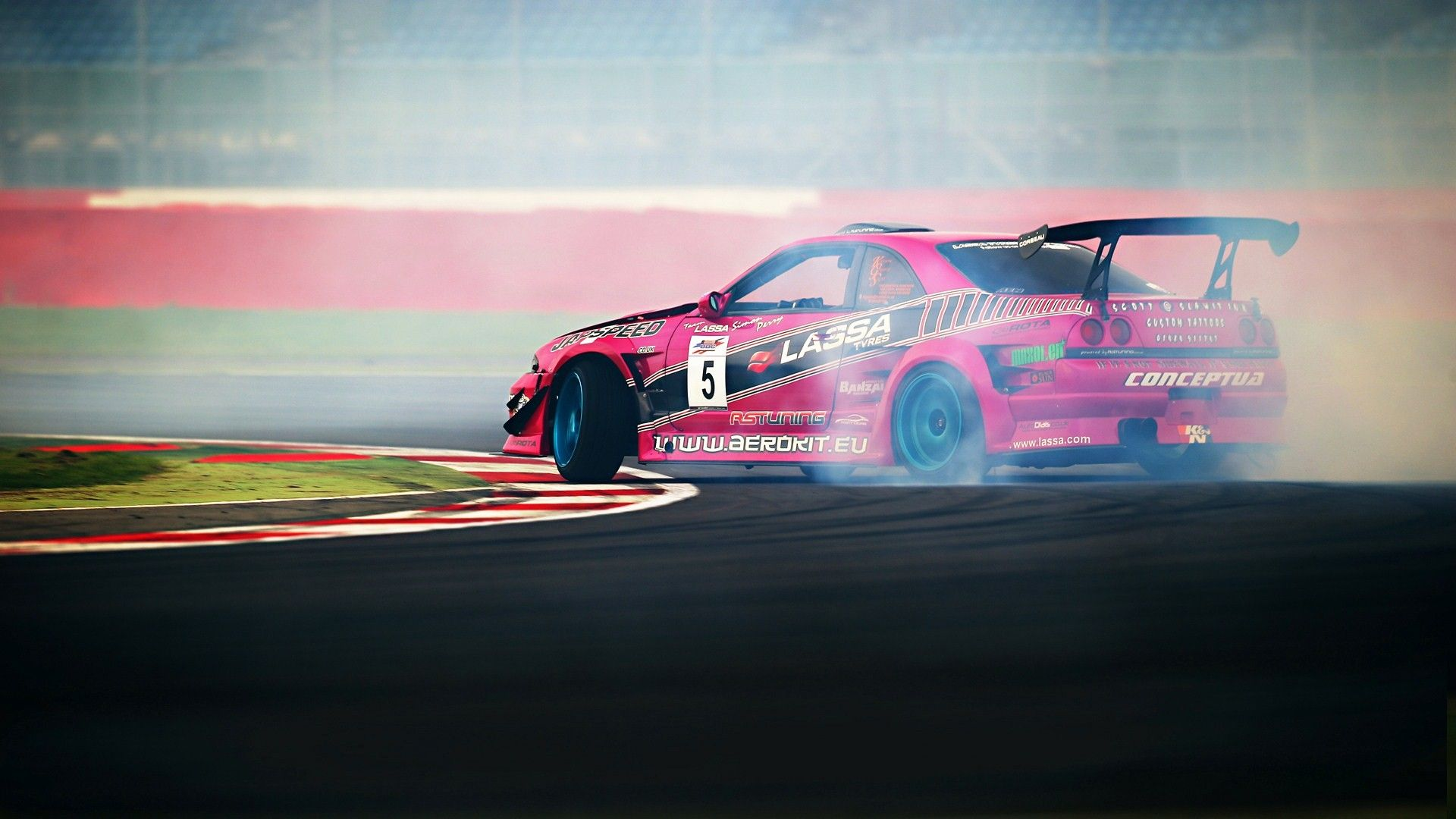 Nissan Gtr Drift Smoke Sports Wallpaper