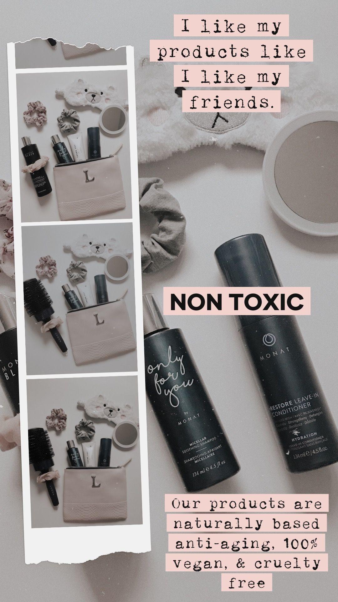 Non Toxic Products Monat Hair Monat Monat Ingredients