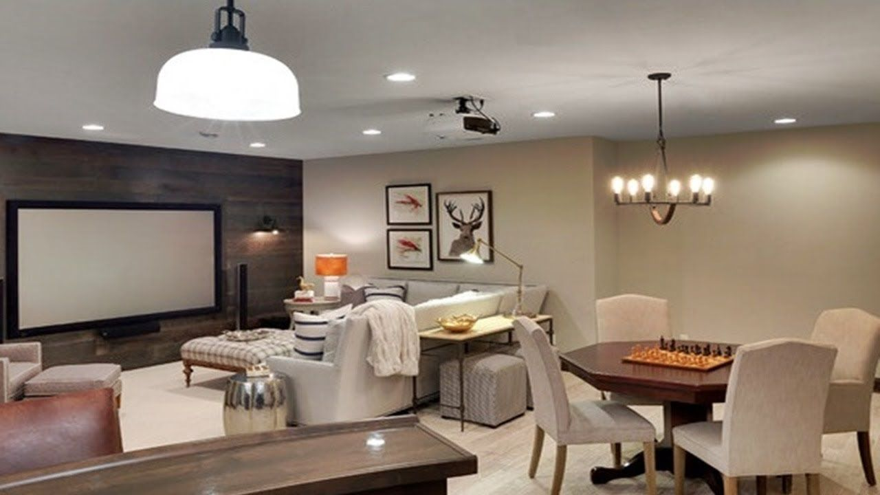 35 Small Basement Decorating Ideas Basement Family Room Ideas On