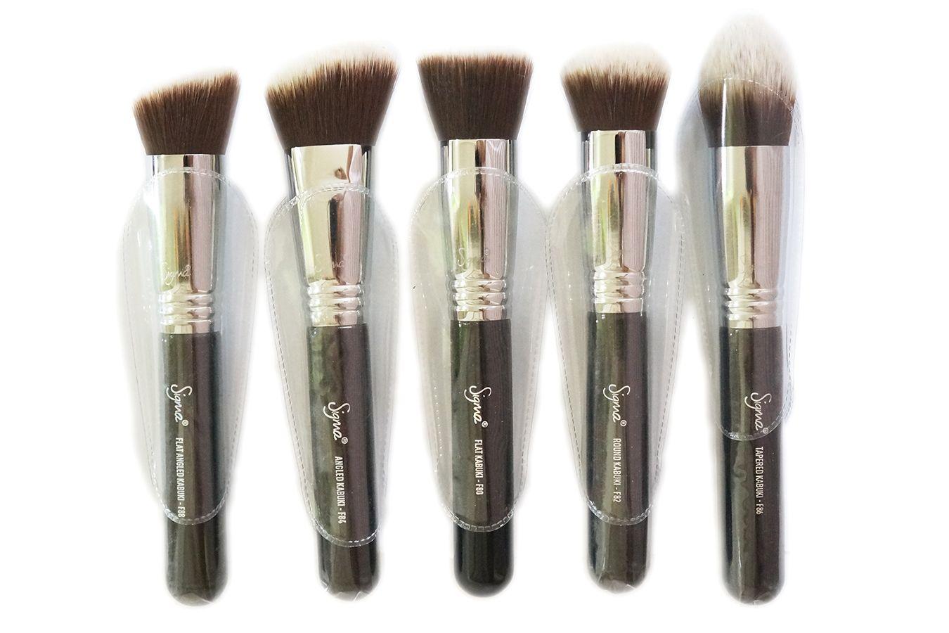 SIGMA Sigmax Kabuki Kit 5Brush Set Brush, Makeup, Matte