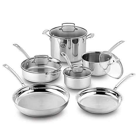 Cuisinart® Kitchen Pro™ Induction Stainless Steel 10-Piece ...