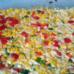 Pioneer Woman S Fresh Corn Casserole With Red Peppers And Jalape Recipe By Angela Recipe Fresh Corn Casserole Corn Casserole Recipes