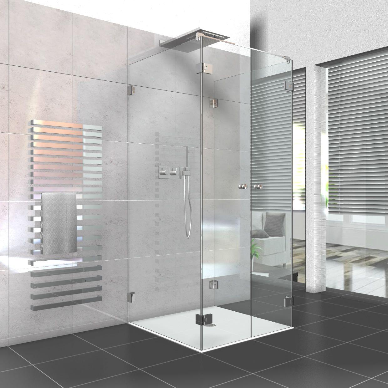 Faltbare Duschkabine Aus Glas Glasprofi24 Dusche Kleines Bad