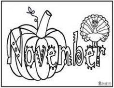 New Coloring Pages November For You | Preschool coloring ...