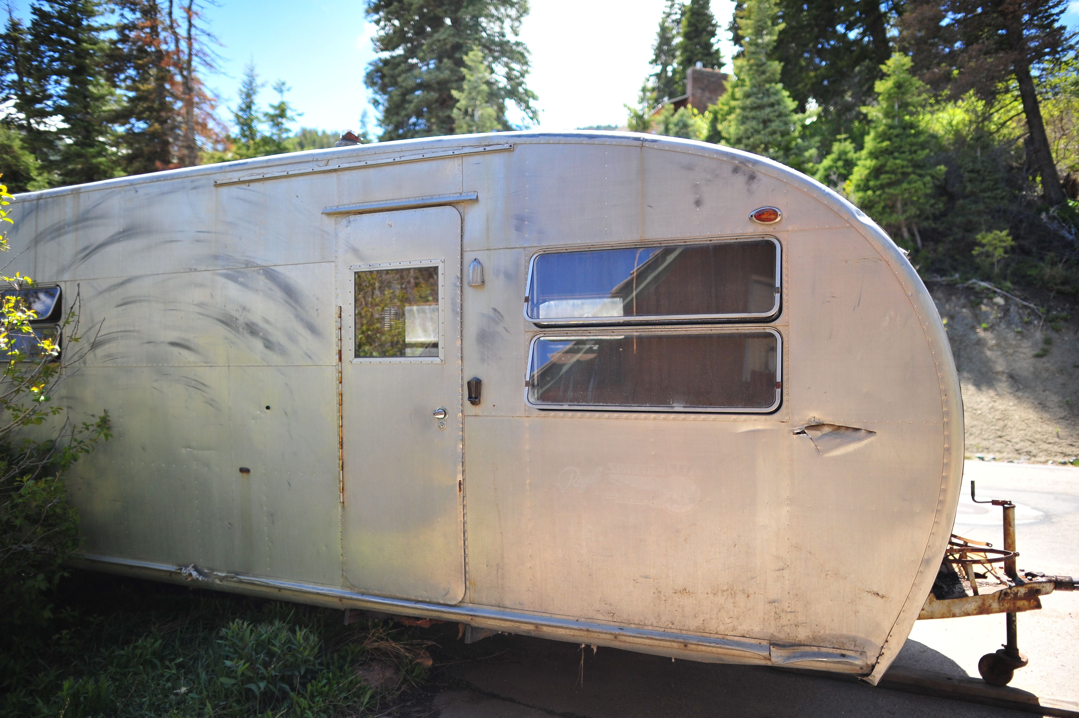 1951 spartan royal spartanette royal sport house trailer for sale 2750 00 this trailer will