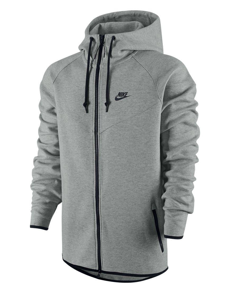 Koop Vest - Nike Tech Fleece Windrunner Full-Zip Hoodie Grey Online op  www.sportnstyles.nl voor slechts € 94 802beac6e