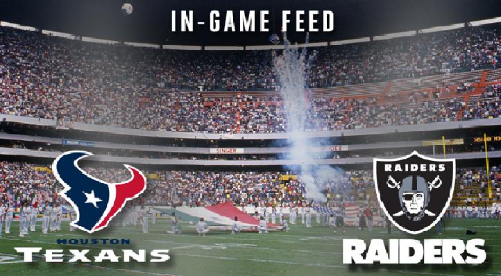 Oakland Raiders vs Houston Texans live stream Raiders vs