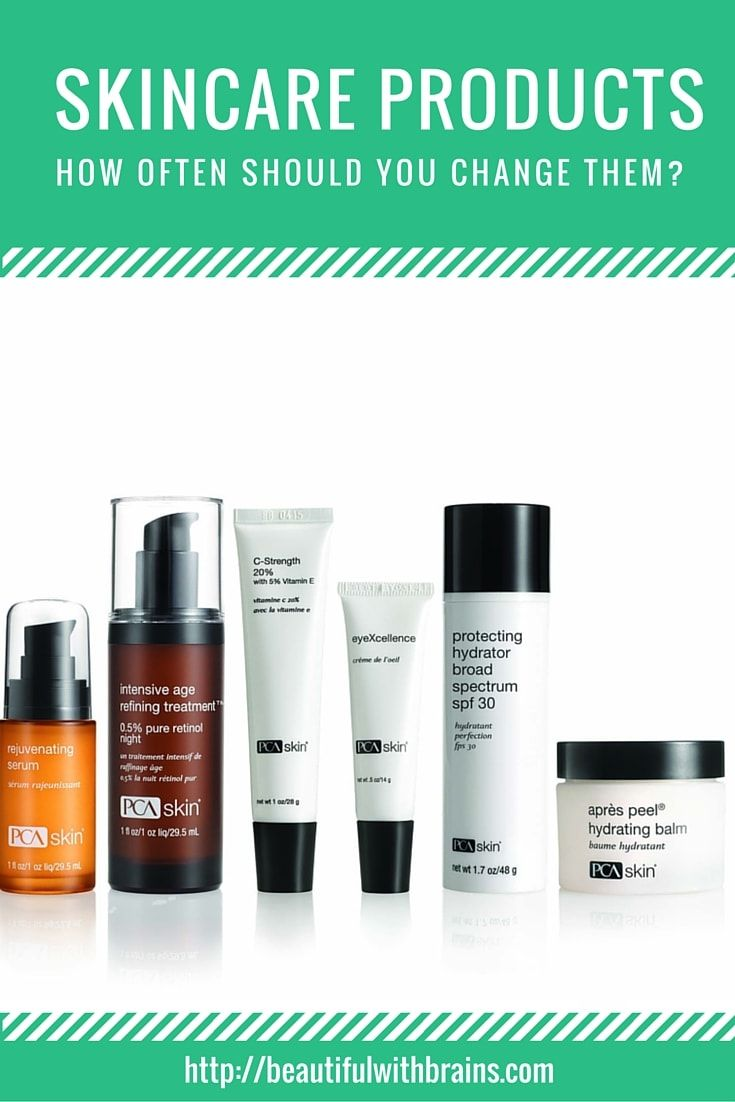 Skincare Products How Often Should You Change Them Skin Care Simple Skincare Beauty Skin Care