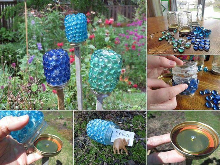 12 Ideas How To Create Unique Garden Art From Junk Unique Garden