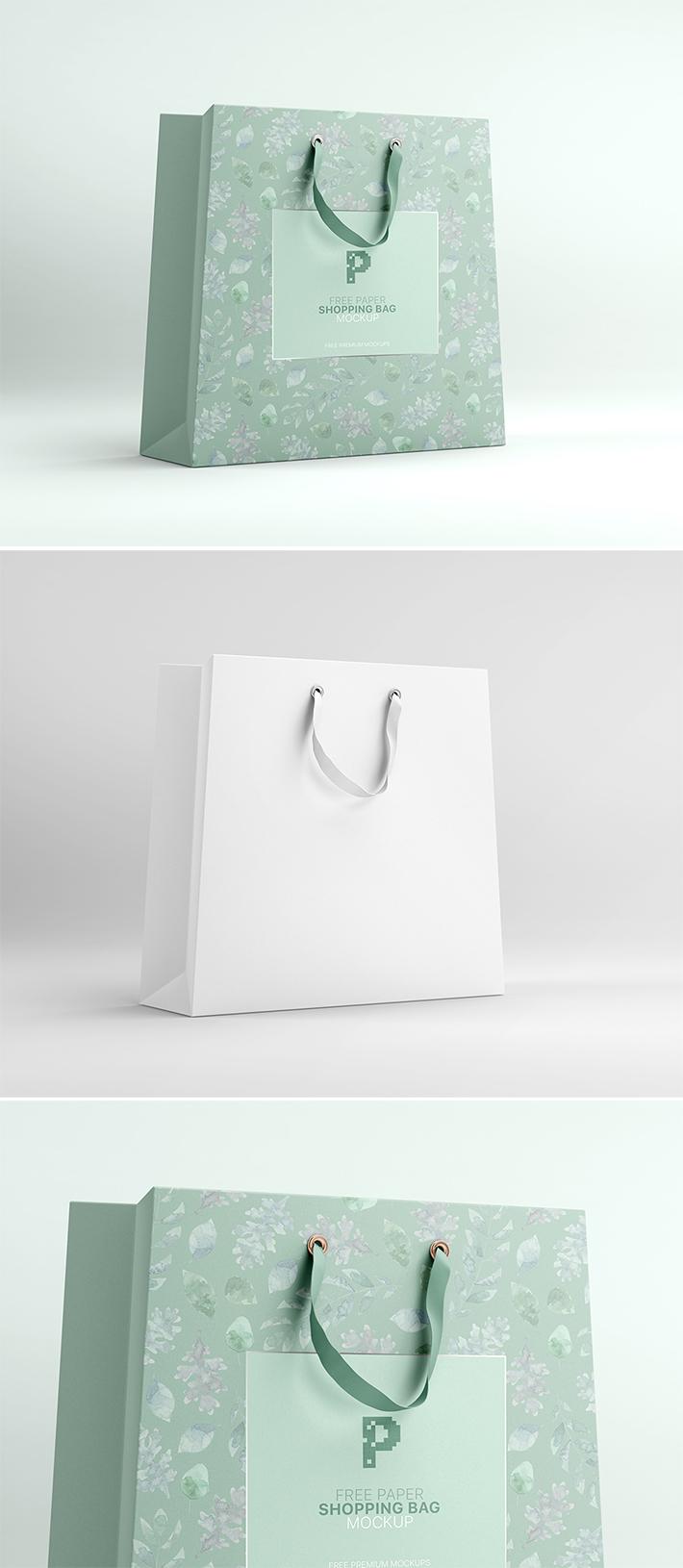 Download Elegant Simple Shopping Bag Mockup Free Freebies Bag Mockup Free Mockup Wedding Photography Business Card
