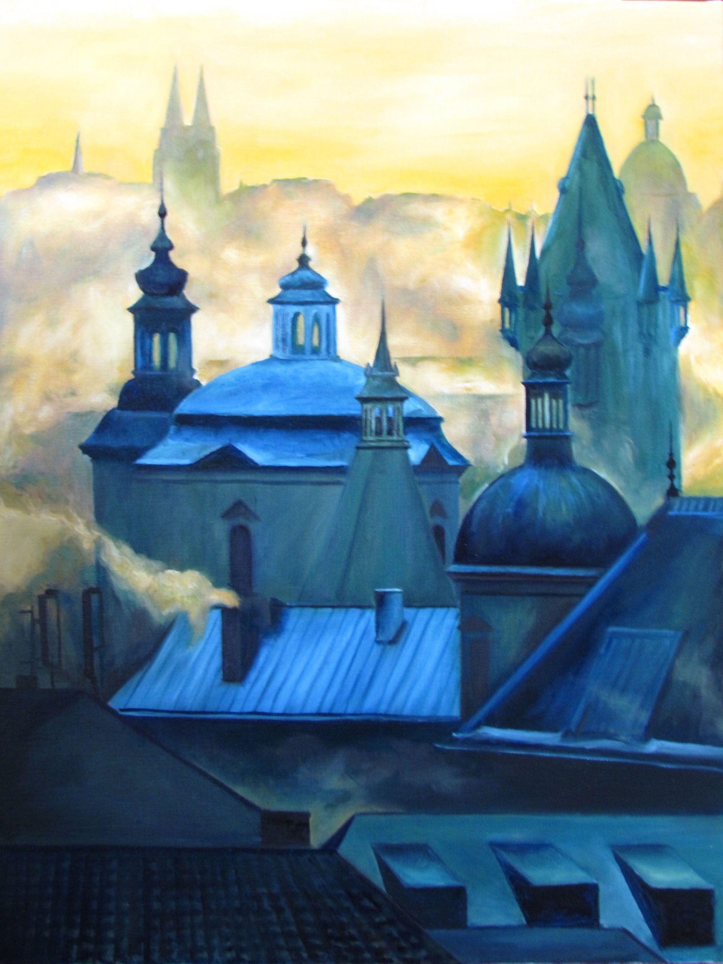 Les toits de Prague Sarah Mostamandy