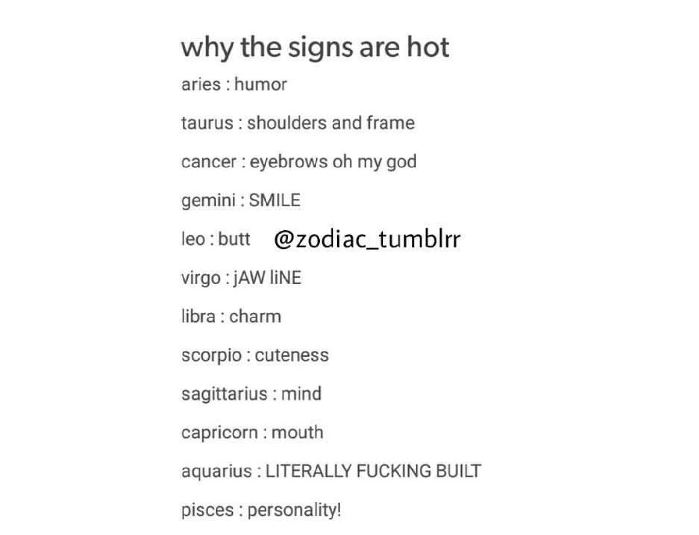 Why are sagittarius so hot