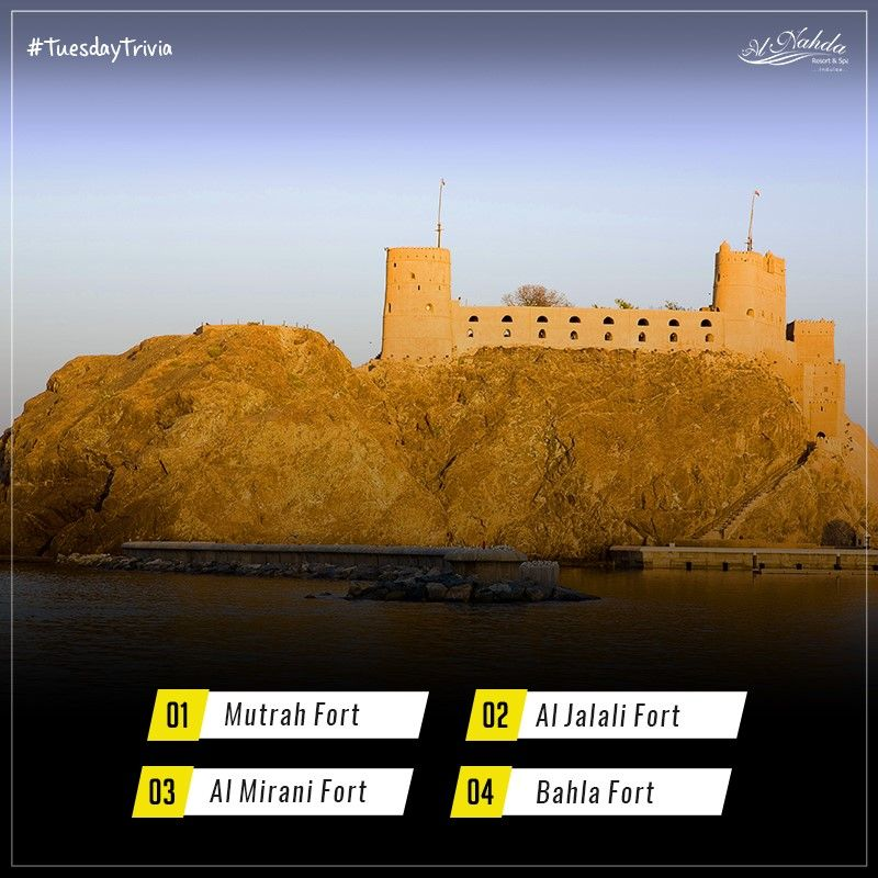 The Name Of Fort In Oman Means Great Beauty Can You Guess Alnahdaresort Nature Luxuryresort Muscat Oma Luxury Resort Resort Spa Monument Valley