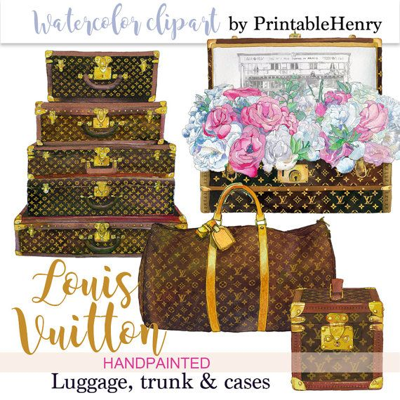 011e4c4ba1f Instant download Louis Vuitton clipart by PrintableHenry on Etsy ...