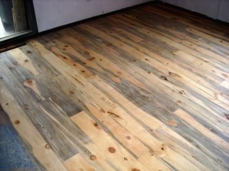 We Have Blue Pine Floors Like This I Love Them Soft Wood