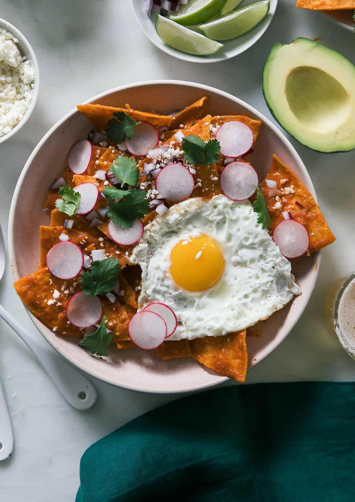 Chilaquiles recipe mexican breakfast recipes how to