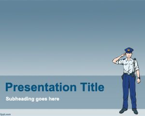 police powerpoint template is a free law enforcement powerpoint