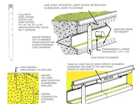 Construction Joints In Concrete Slabs The Concrete Network Construction Cost Concrete Concrete Slab