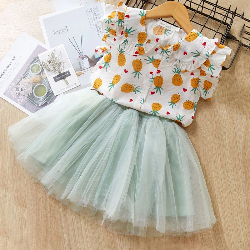 Melario Summer Girls Dress NEW Costumes Kids Dresses for Girls Children Princess Party Dress Baby Girls Clothes Casual Wear 2-6T   www.babyliscious.com