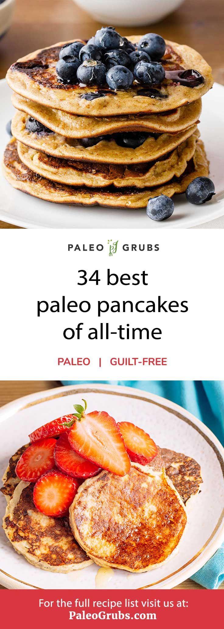 34 Best Paleo Pancakes of 2019 – Banana, Pumpkin, Coconut Flour + More