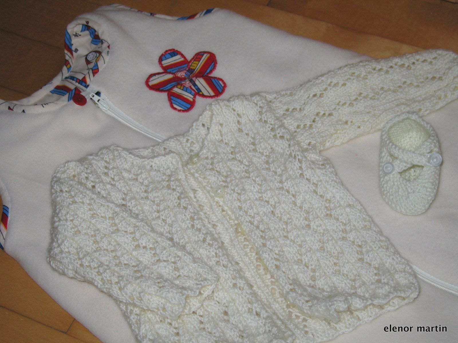 small baby sleeping bag, baby jacket and bootie | Free pattern, Baby ...