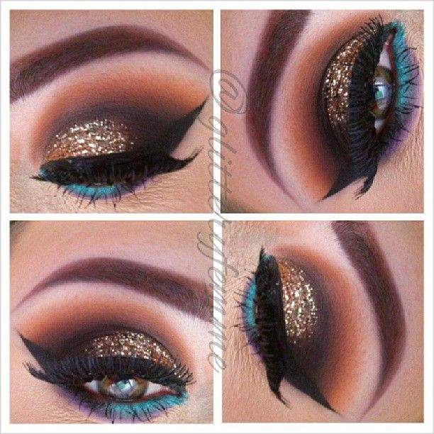 how to make liquid eyeliner out of eyeshadow