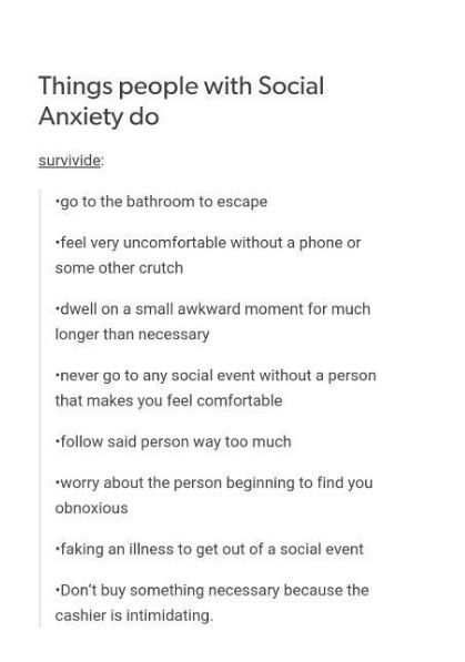 Quotes About Anxiety Tumblr YEEEEEEEEEESSSS I DO A...