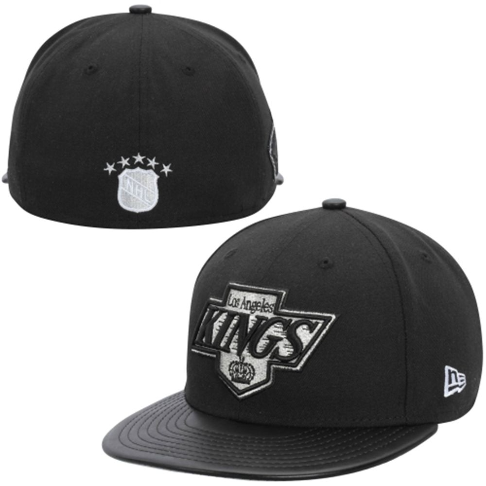 Mens Los Angeles Kings New Era Black Etcher 59fifty Fitted Hat For My Brother Fitted Hats Fitted Baseball Caps New Era