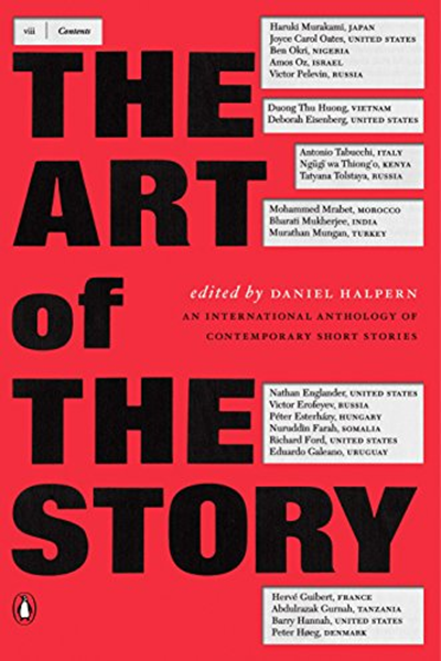 The Art Of The Story An International Anthology Of Contemporary Short Stories By Daniel Halpern Penguin Books Short Stories Writing Short Stories Short Fiction