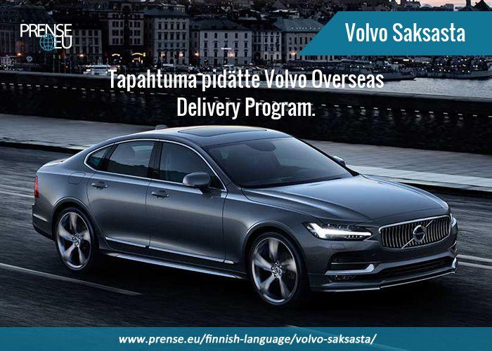 Prense tarjoaa Volvo Car Saksa. Volvon tallentaa poimia erityinen merirosvo kaavio ja rekisteröidä.