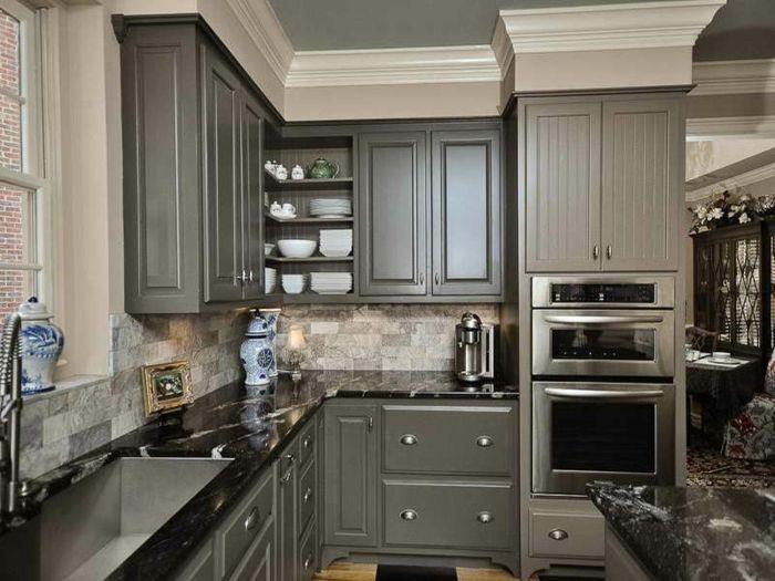 La cuisine grise, plutôt oui ou plutôt non? Cuisine