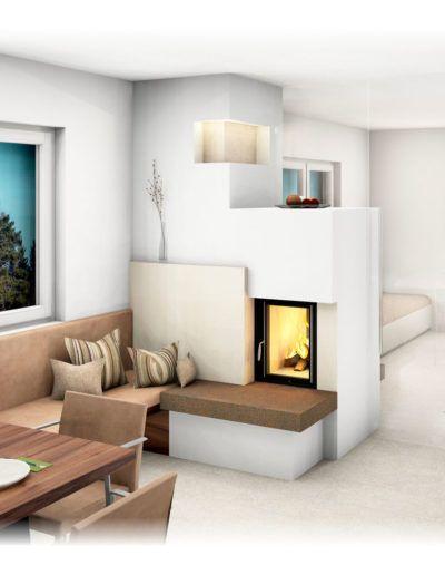 kachelofen modern d m in 2019 kachelofen modern kachelofen und ofen wohnzimmer. Black Bedroom Furniture Sets. Home Design Ideas