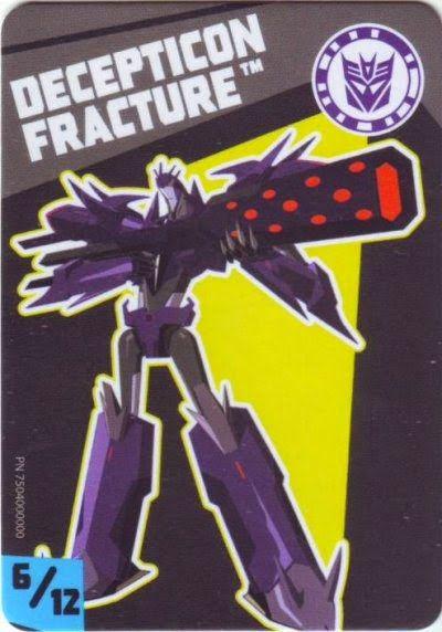 Series 3 6 Of 12 Decepticon Fracture Tiny Titans Titans Tiny