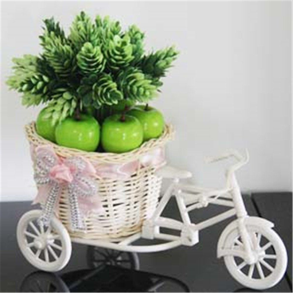 Home decor artificial flowers  SituMi Artificial Fake Flowers Mini Home Decor Bicycle Flower